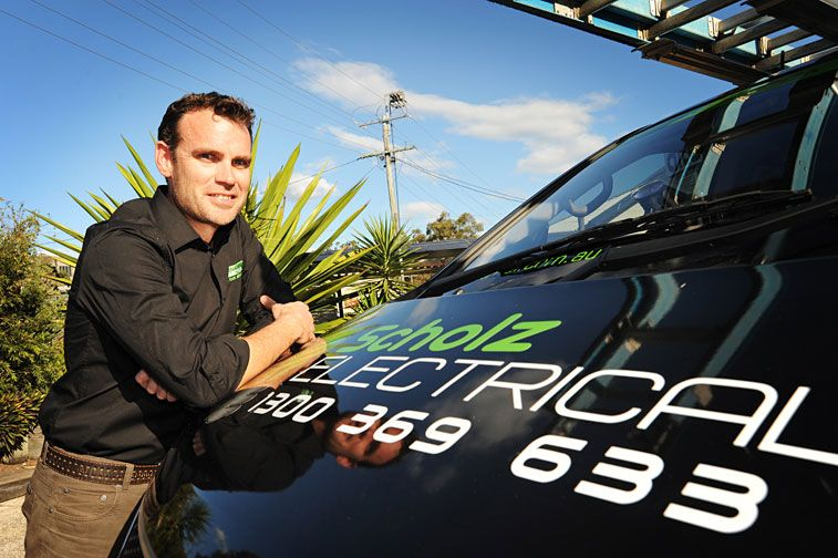 Brisbane Electrician - Michael Scholz, from Scholz Electrical.