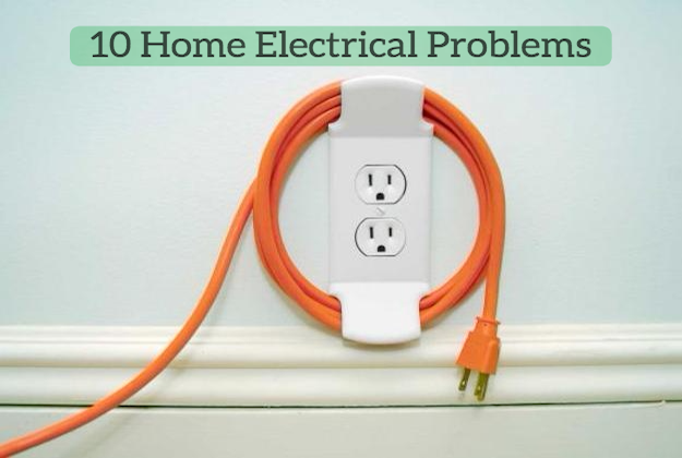 10 common electrical problems around the home. Black Bedroom Furniture Sets. Home Design Ideas